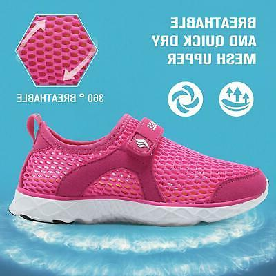 CIOR Boys Girls Water Shoes Swim Shoes Size F