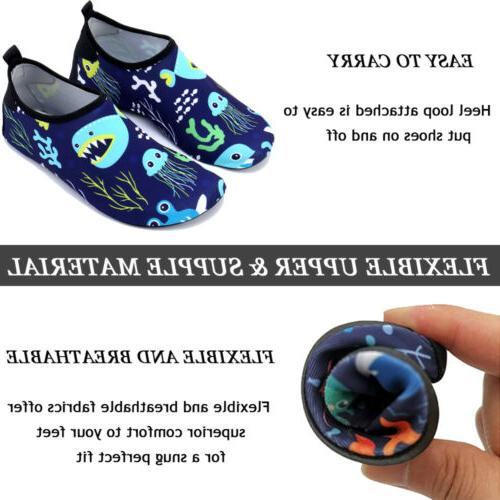 Boys Water Shoes Dry Swim Sports Pool Surfing