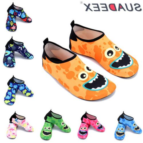 boys girls kids water shoes quick dry