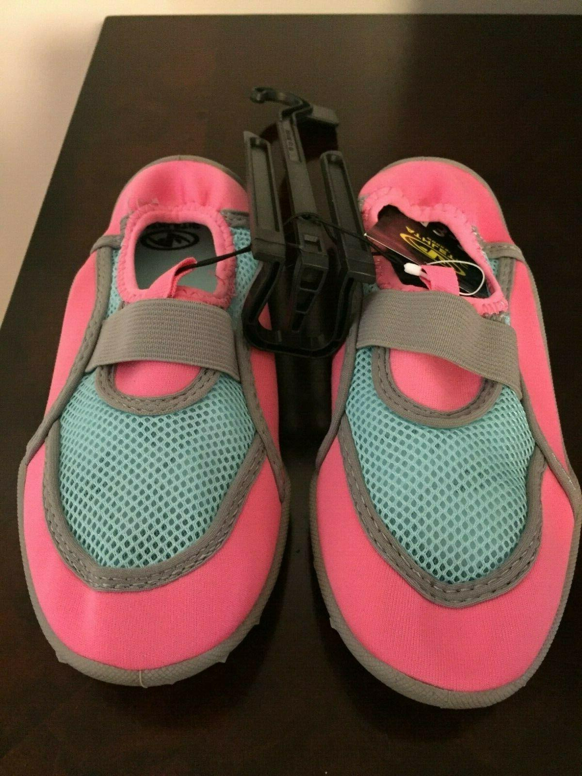 BRAND GIRL'S SIZE 4-5 WATER SHOES