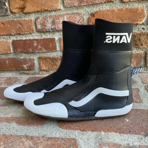 Vans Surf Boot Hi Black Size New