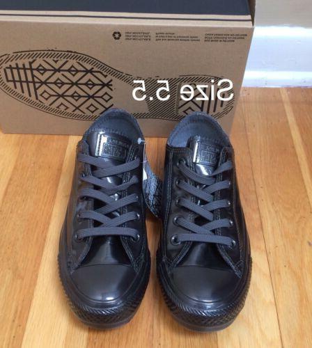 CONVERSE Chuck Taylor Black Metallic Rubber Women Sneakers W