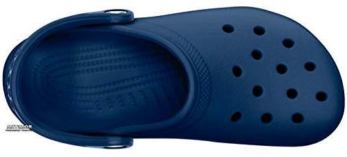 crocs Navy, 6 US