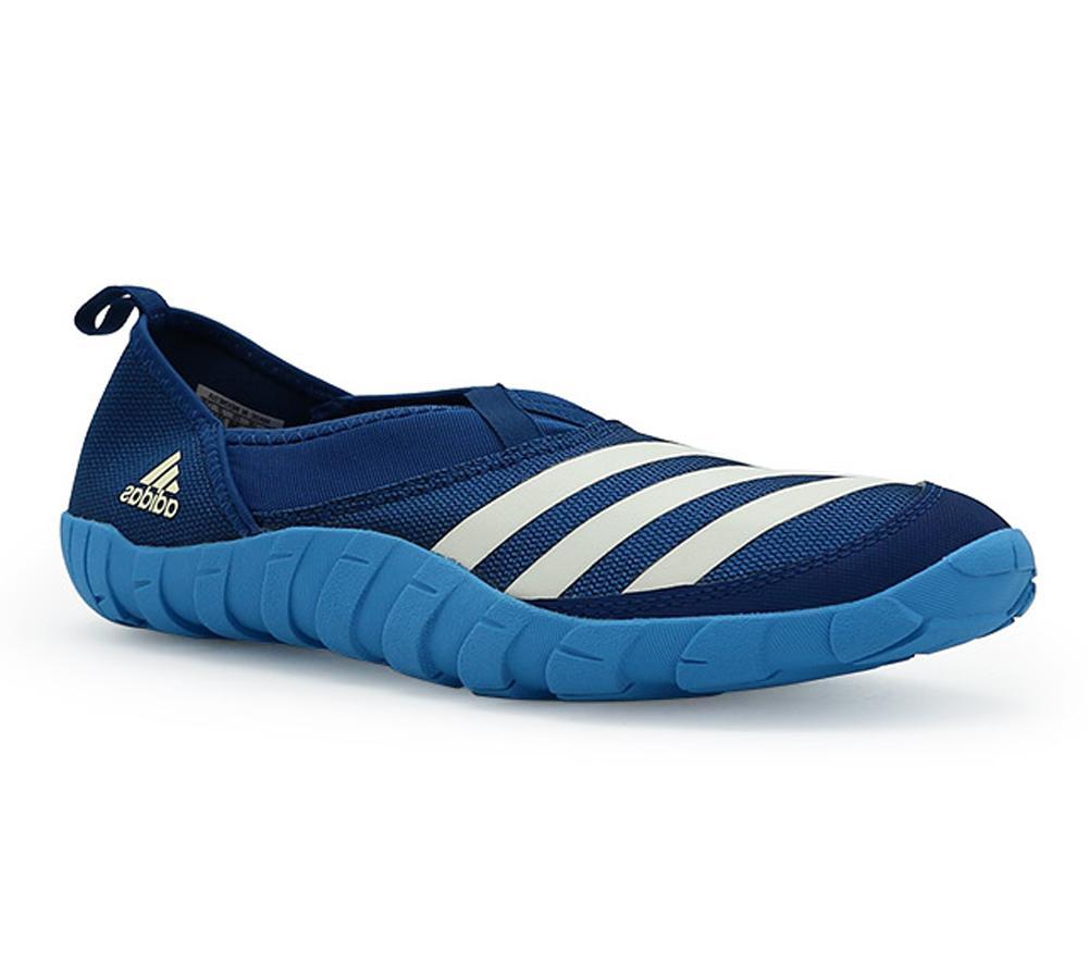 Adidas Climacool Jawpaw Slip On Water Shoes Blue White Black