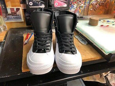 Converse Tekoa HI Black/White 9
