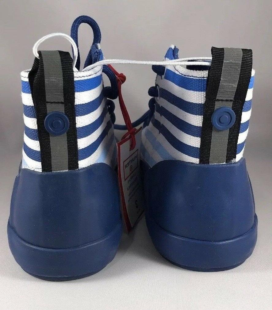 HUNTER Canvas Stripe High Sneakers NEW 3 TARGET