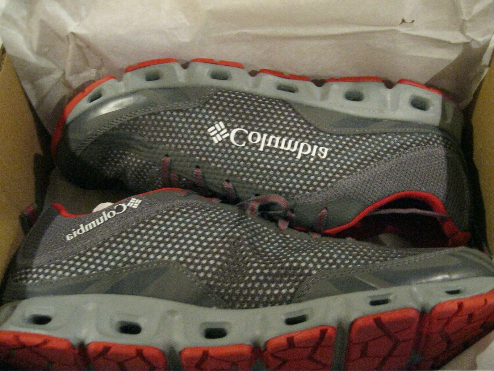 drainmaker iv water shoes grey red men