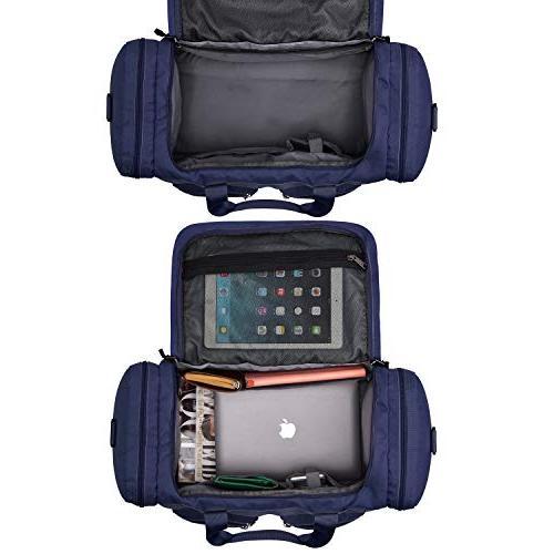 Gonex 45L Travel Gym Luggage Water-Resistant Pockets