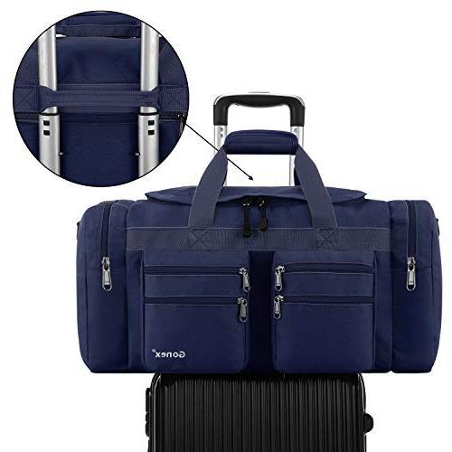 Gonex Gym Sports Bag Water-Resistant Many Pockets