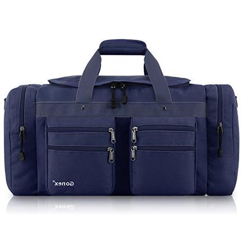 Gonex Travel Gym Bag Water-Resistant Many Pockets