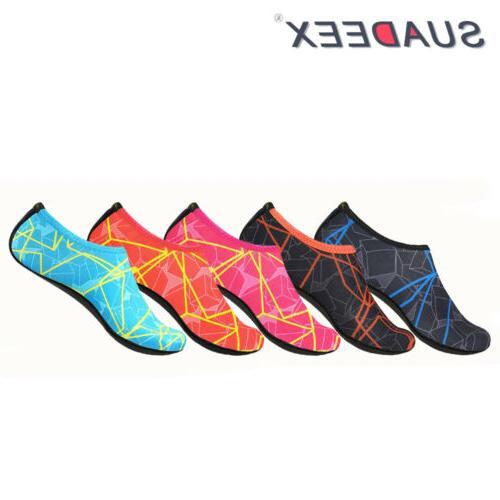 girls boys barefoot water aqua shoes quick