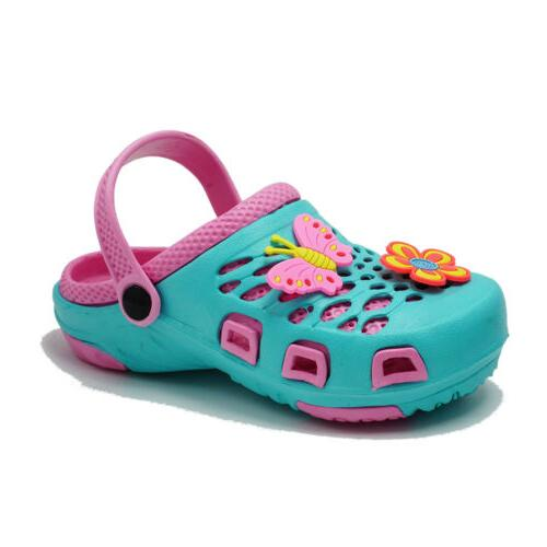 Girls Sandals Kids Slippers Cartoon Shoes