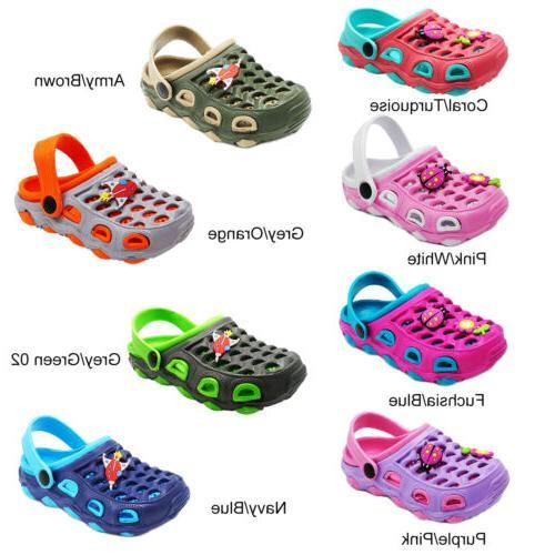 Girls Clogs Slippers Cartoon