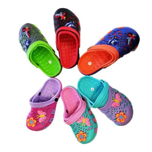Girls Boys Slippers Shoes