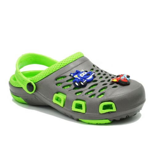 Girls Boys Cute Sandals Slip Slippers Water Shoes