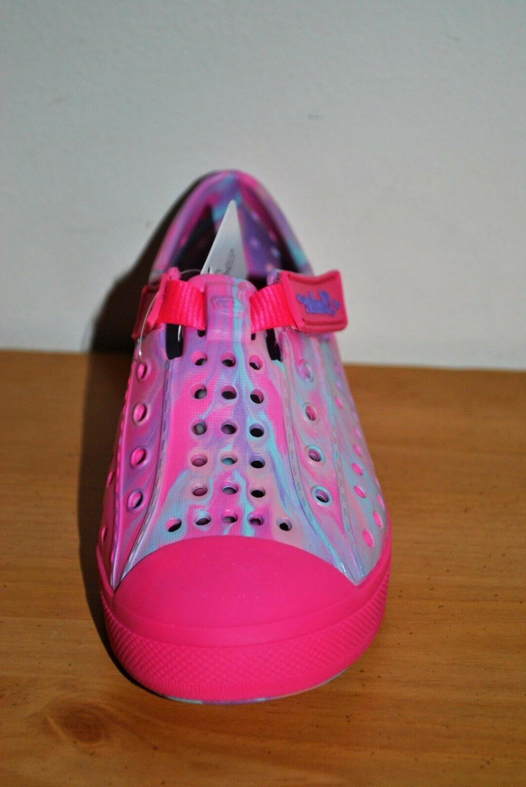 Swirly Brights Pink Shoes - Size 9, 10