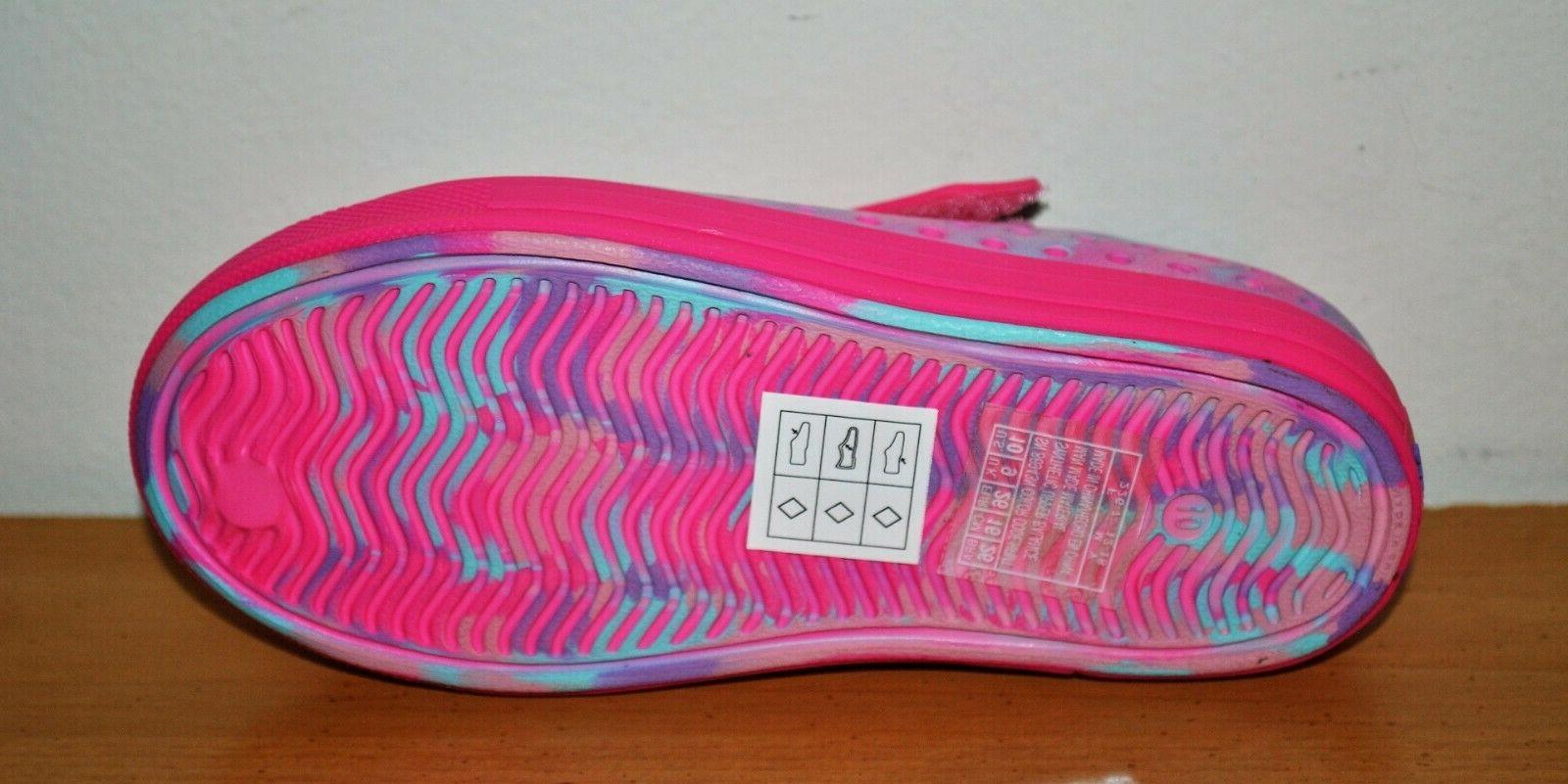 Skechers Swirly Brights Shoes Sandals - Size 9, 10