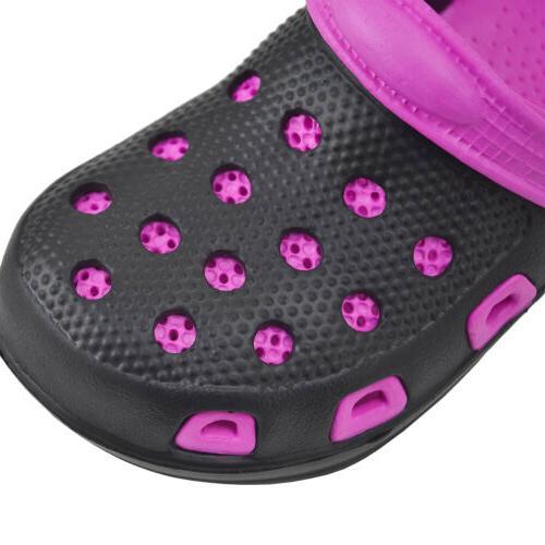 Girls Kids Clog Sandals Summer Antislip Slippers