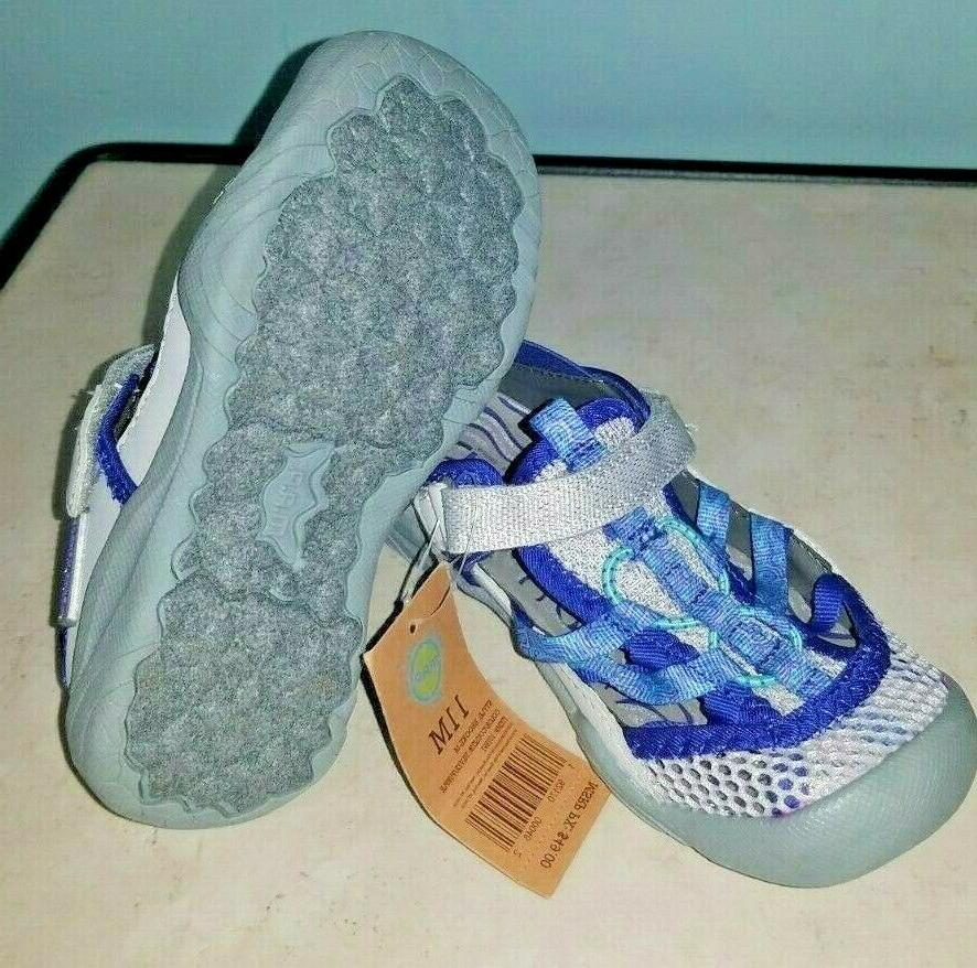 Girls M.A.P. Adventure Play Brook Water Silver/ Purple NWT