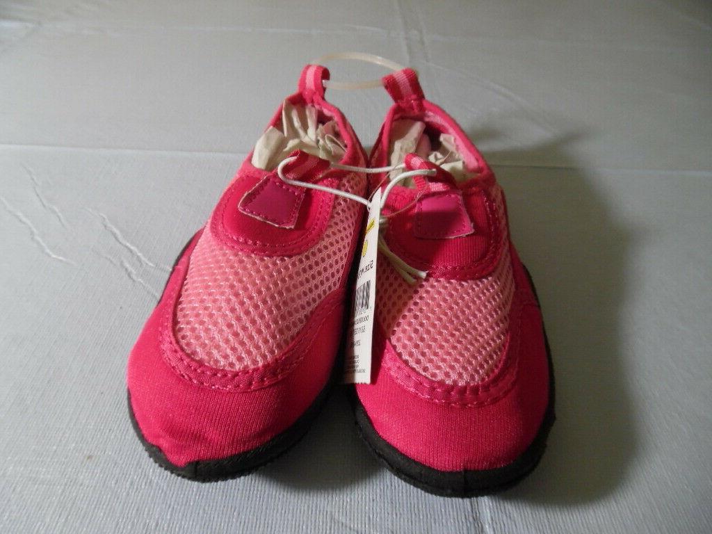 girls pink water shoes bobbie girls size