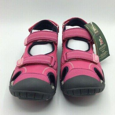 Kamik Girls Seaturtle Water Resistant Shoes Pink Sandals 5
