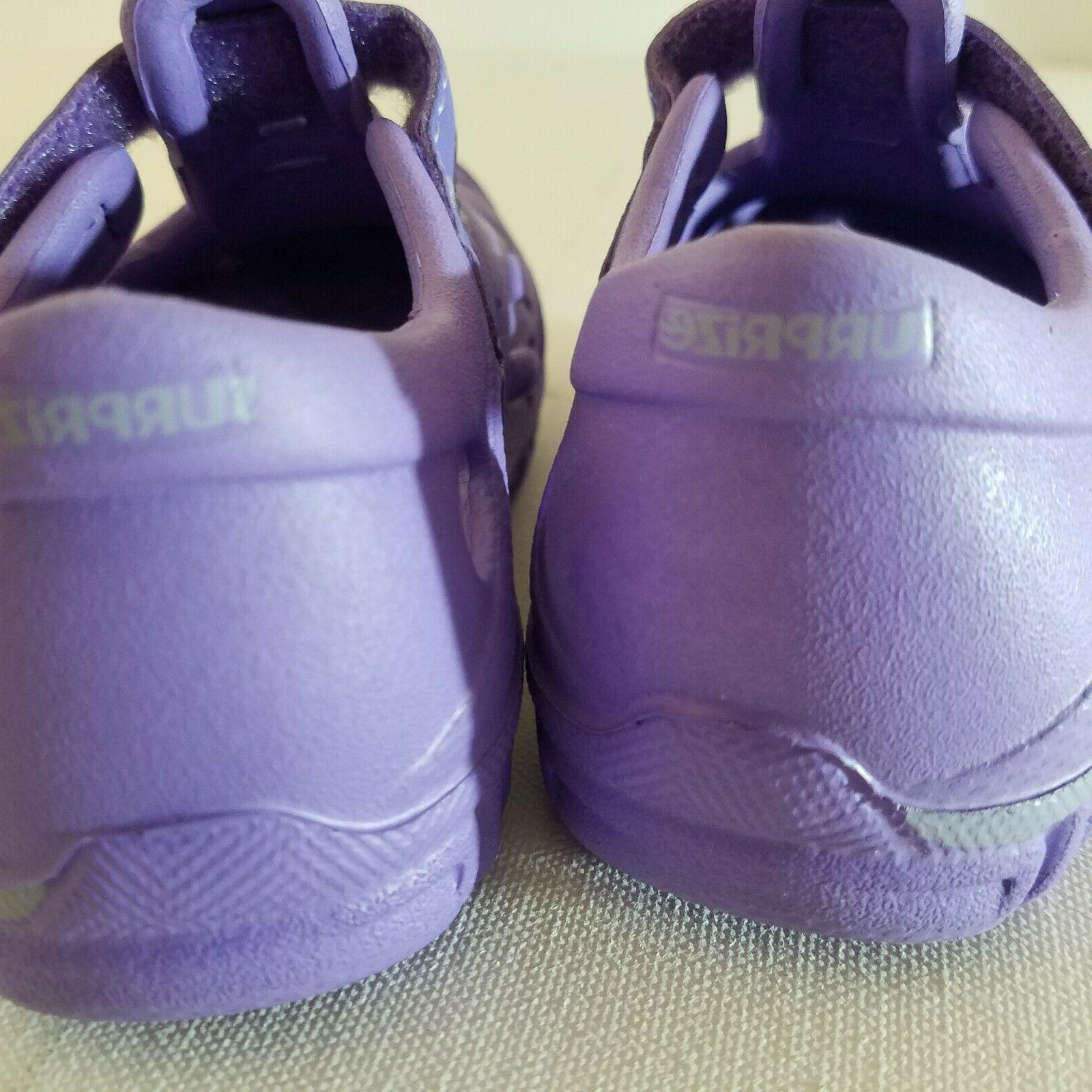 Girls & Land Shoes 3, 5 Purple and Loop