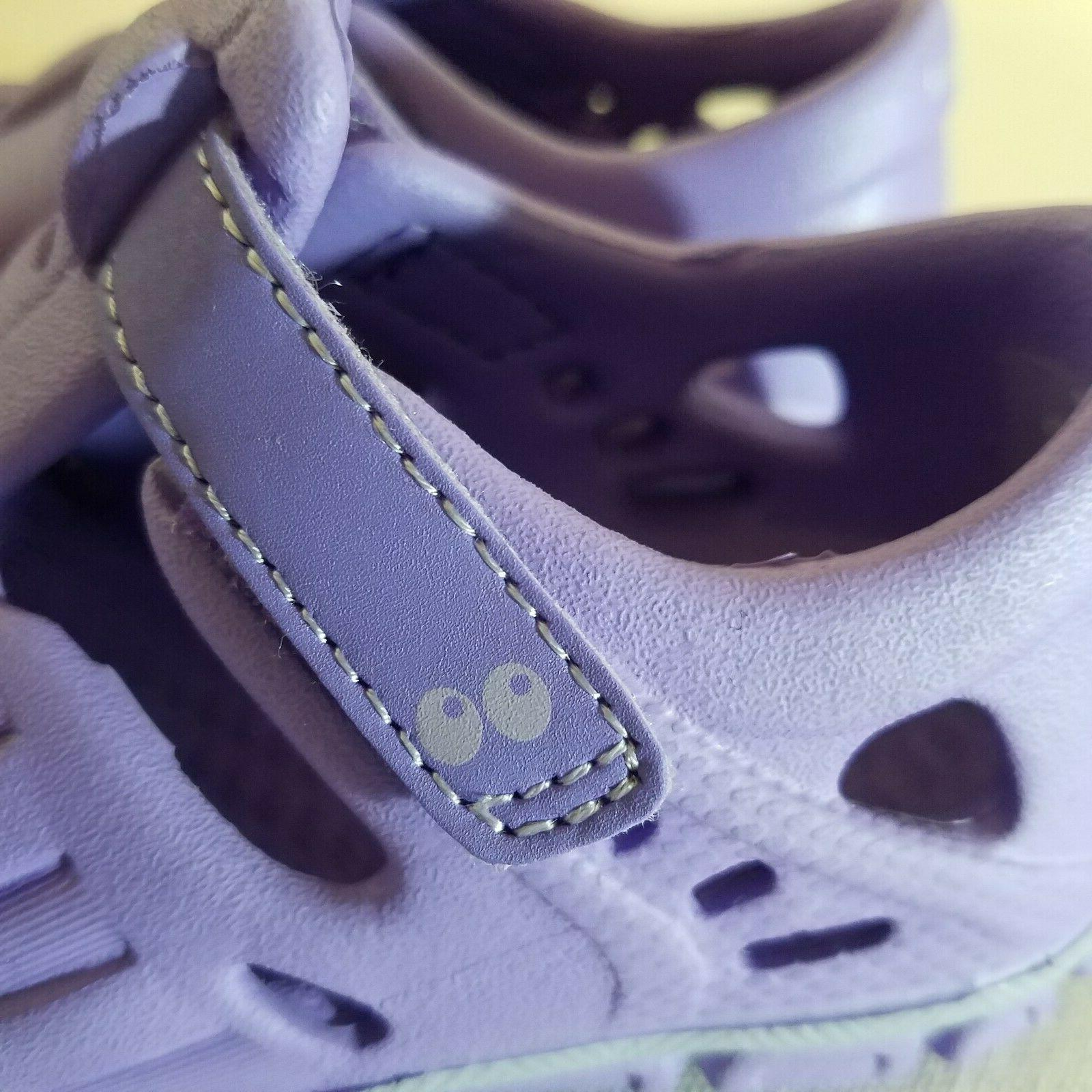 Girls Water Shoes Sizes 5 and Loop Fastener