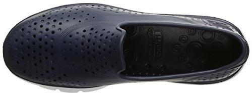 $44 Skechers Water shoe Sz 7 Plastic Navy 14265