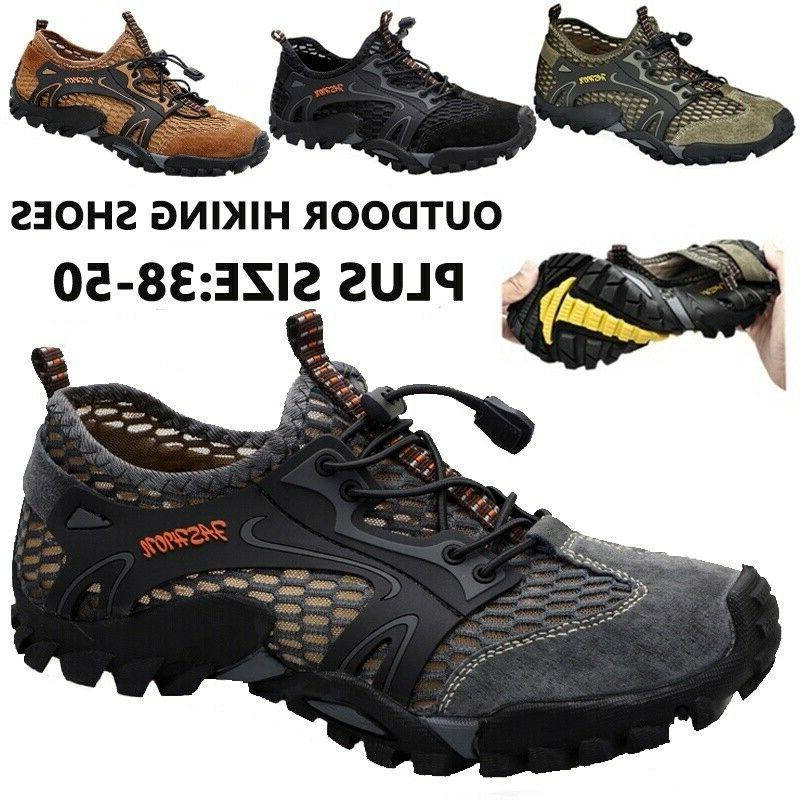 hiking shoes for men running quick dry