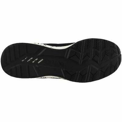 ASICS Casual Running Shoes Black Mens