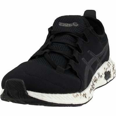 hypergel sai casual running shoes black mens