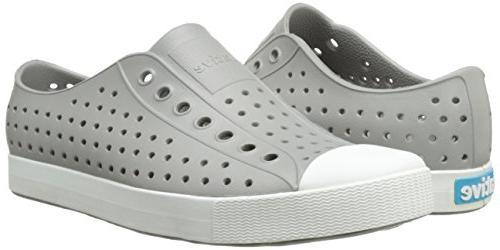 Native Jefferson Fashion Sneaker, White,6 US Men/8
