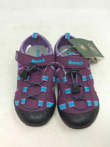 kid s water shoes size 5 purple