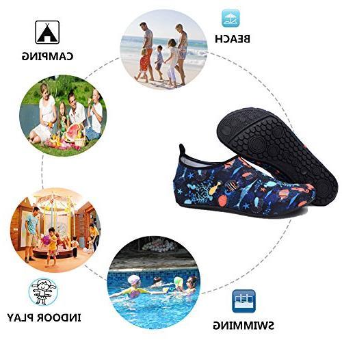 QTMS Girls Dry Aqua Socks Shoes