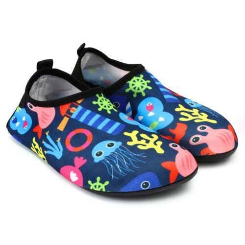 kids water shoes aqua socks diving socks