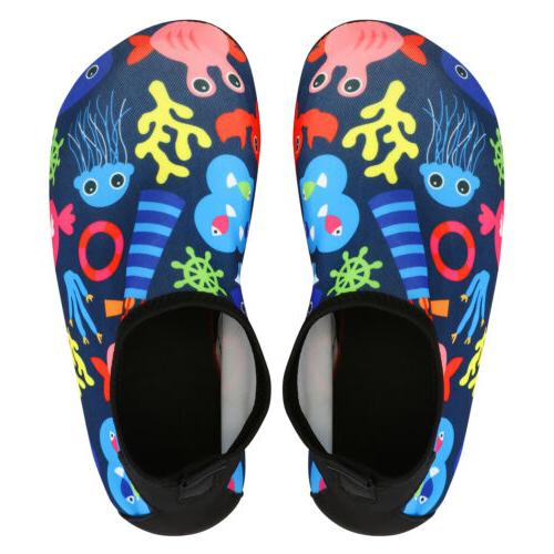 Kids Shoes Aqua Socks Diving Socks Non-slip Swim Beach US