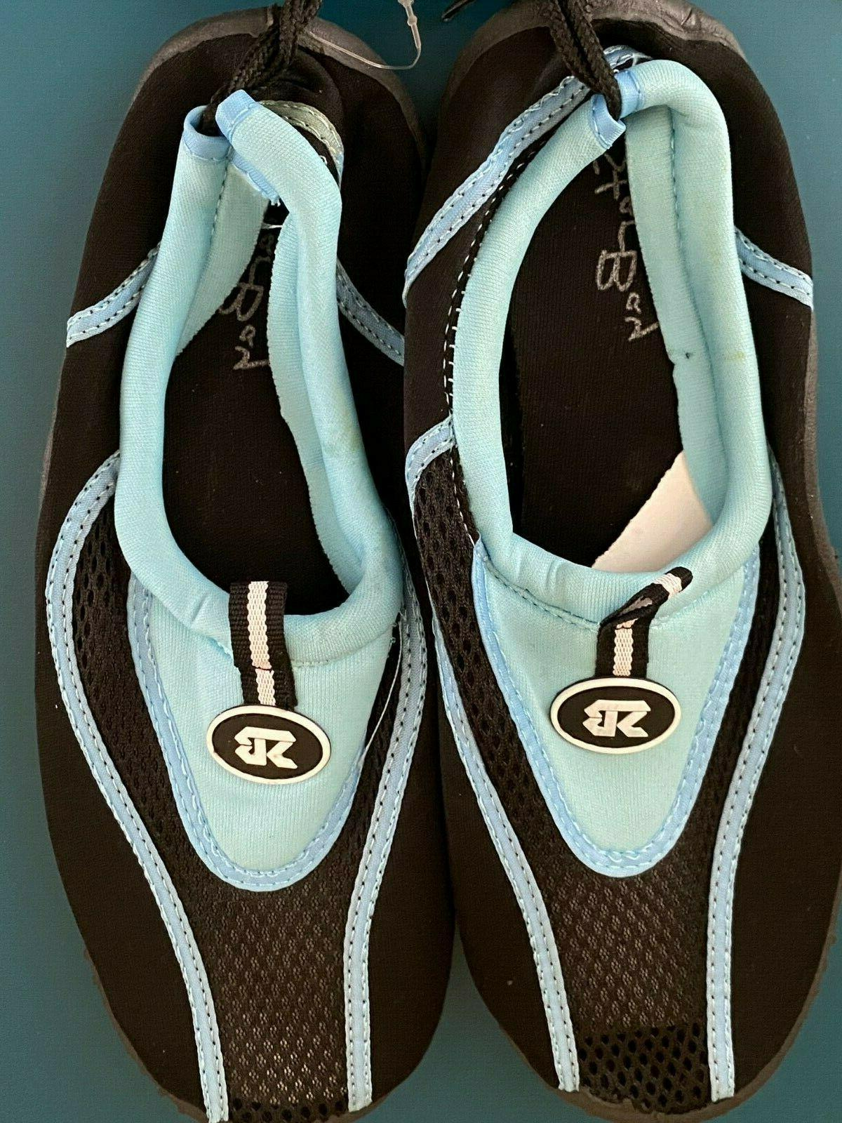 Kids Childrens New Shoes 1 Aqua Socks Slip Beach
