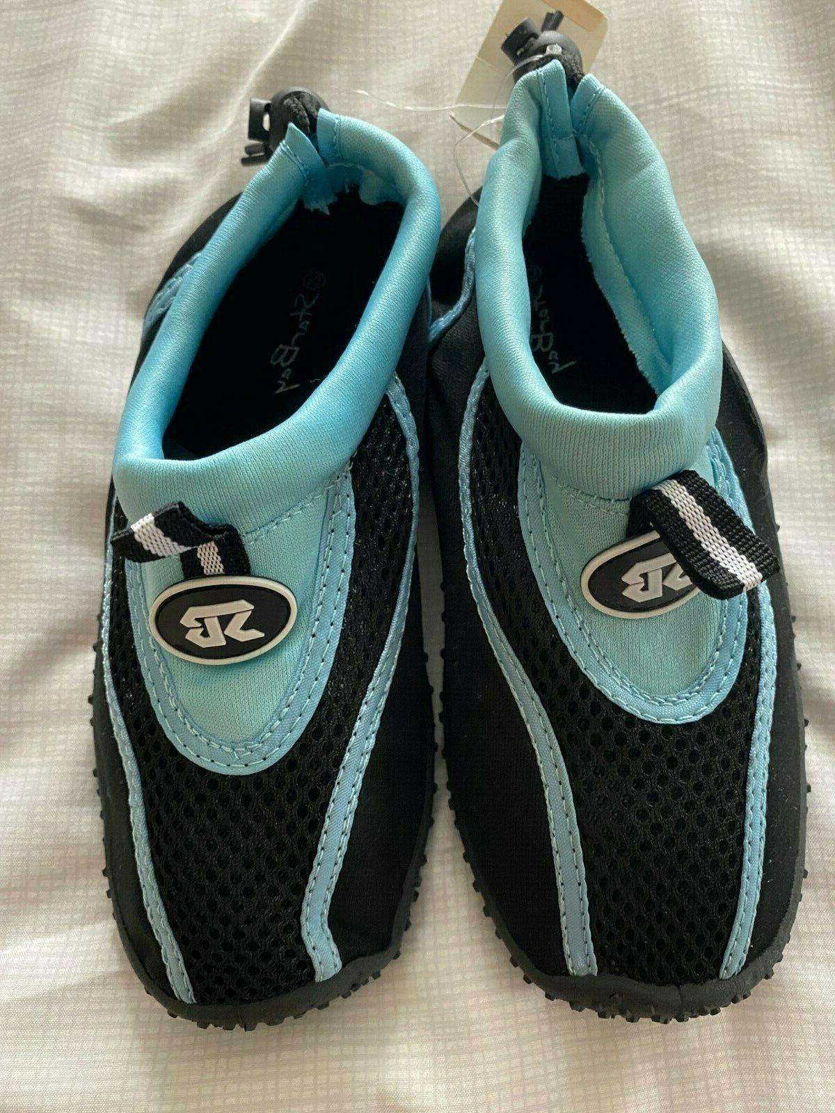 Kids Childrens New Shoes 1 Aqua Socks Slip Beach Swim