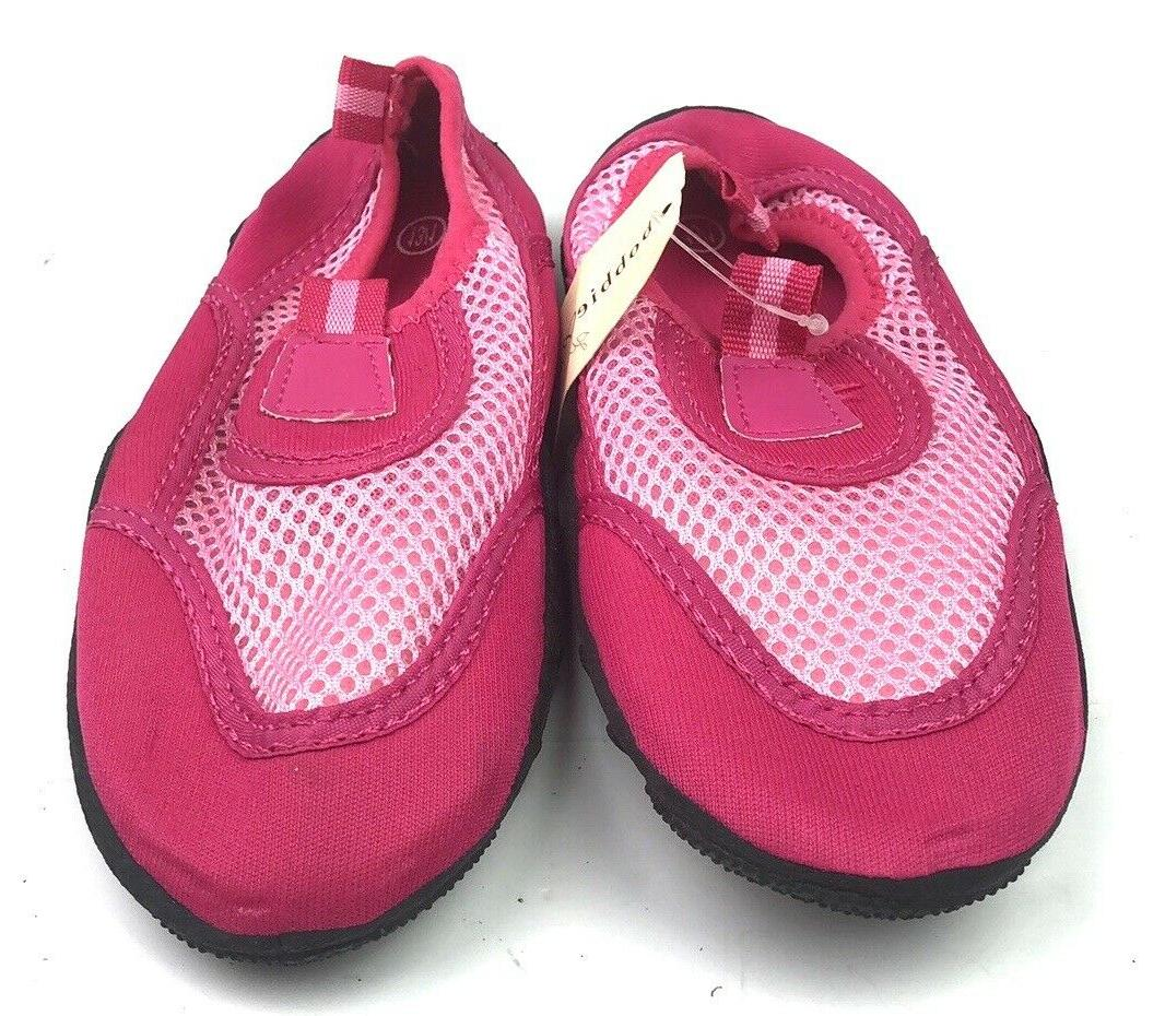 Bobbie Aqua Water Pink Mesh Rubber with Tags