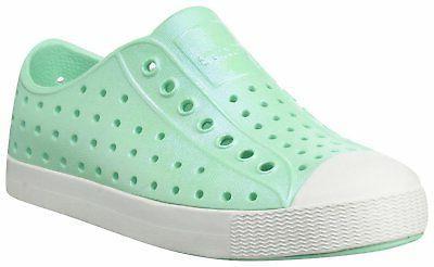 kids iridescent jefferson water proof shoes glass
