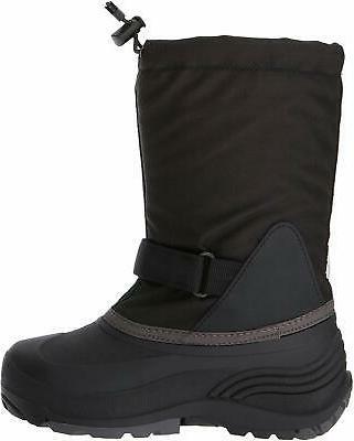 Kamik Kids' Boot, Black/Charcoal, Size 4.0 sZzz
