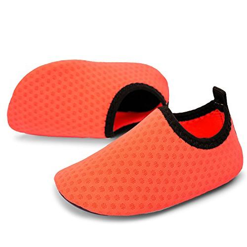 L-RUN Infant Barefoot Pool Orange 0-6