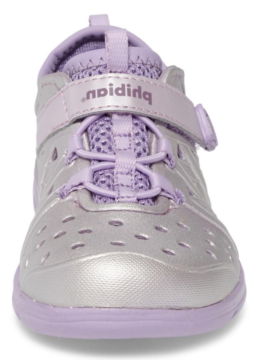 Stride Rite Made Play Sandal Purple Metallic Girls' Size 13