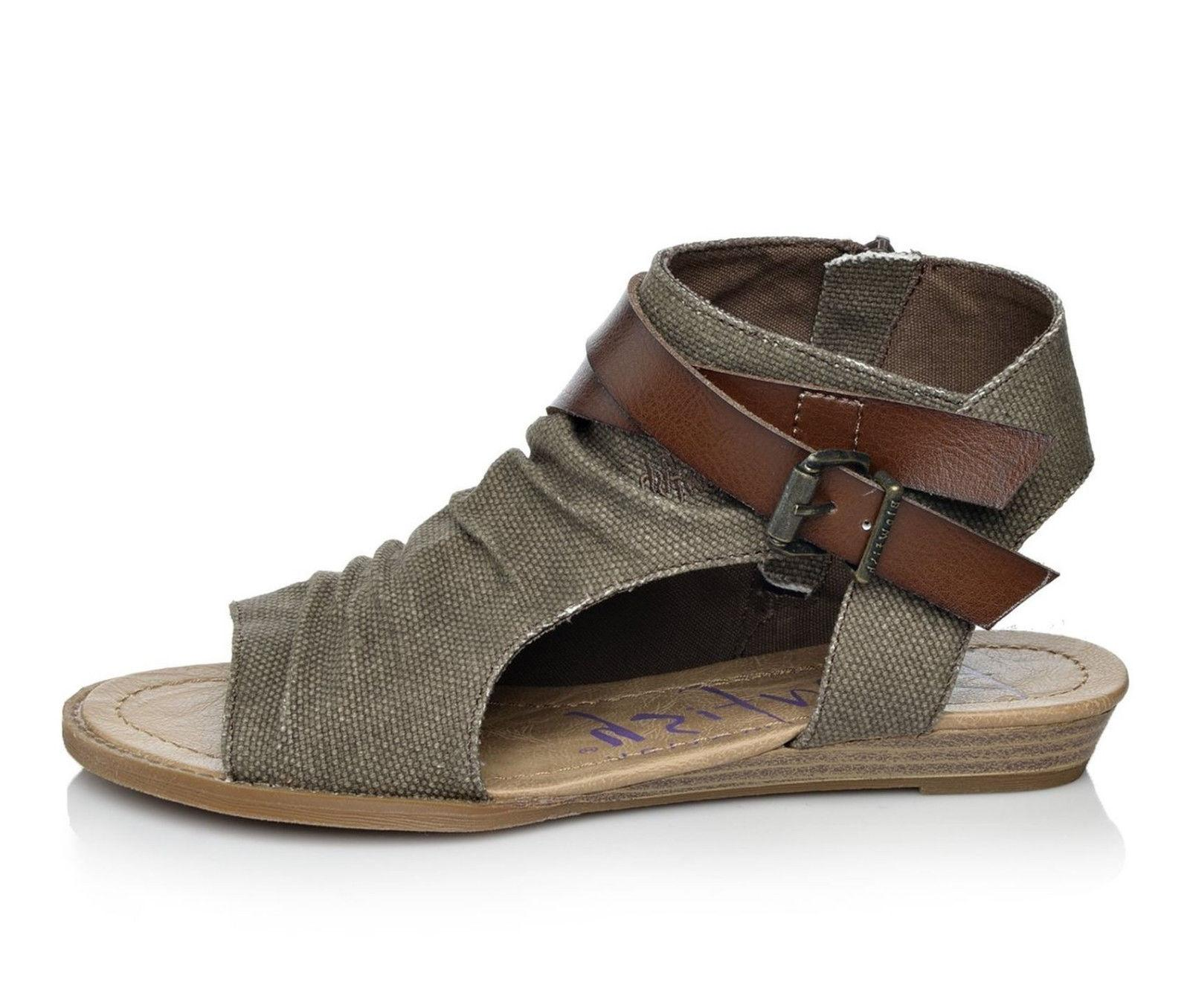 Blowfish Brown Sandals - Sizes 7