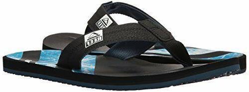 man ht prints sandal flip flop rf2076