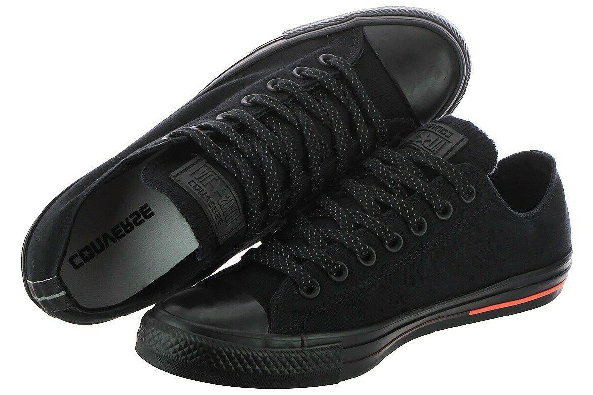 Men All Star Low Canvas Black Lava