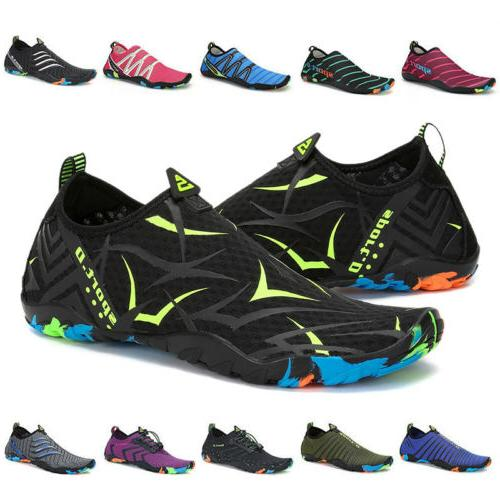 men and women water shoes aqua socks