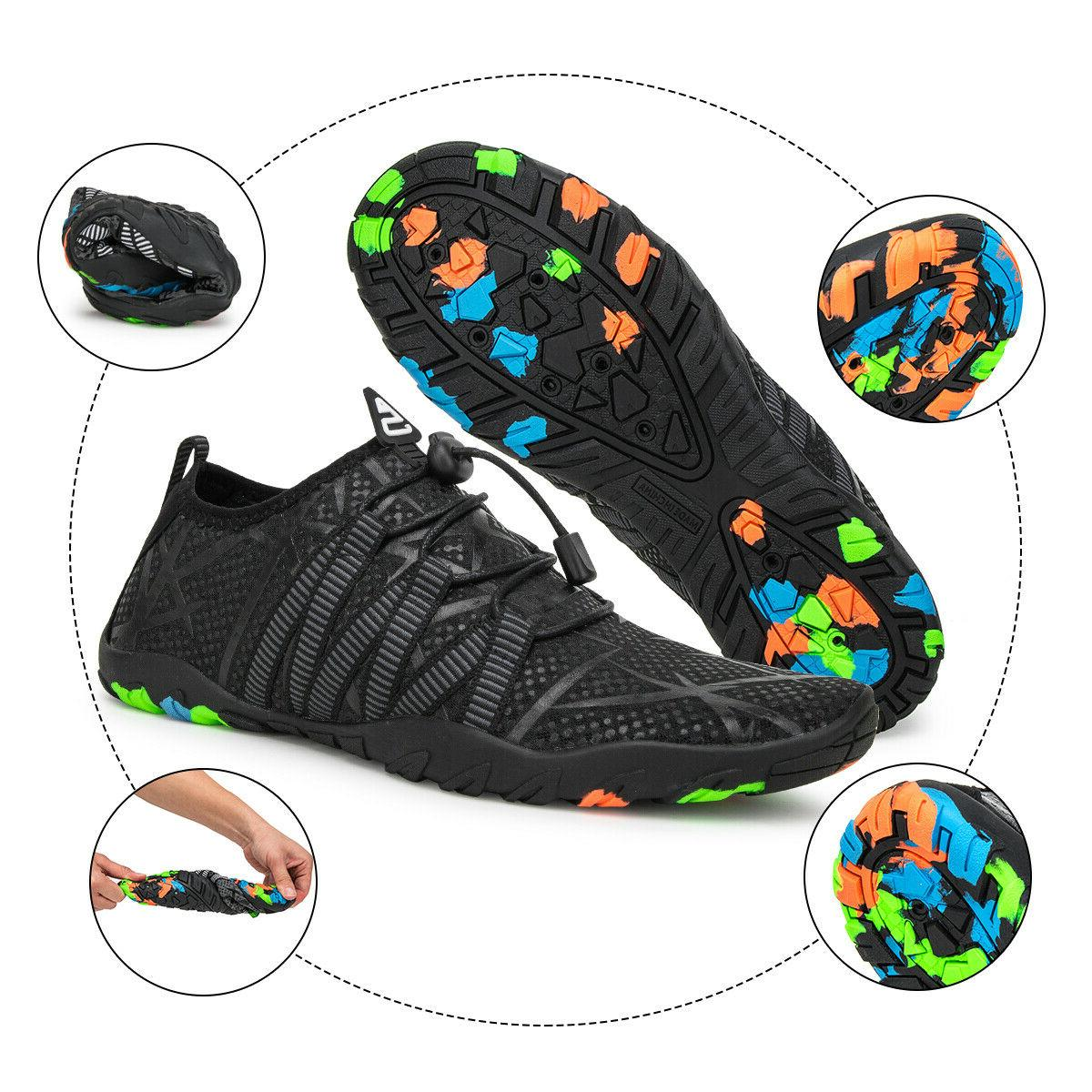 Men Swimming Beach Flat Breathable Shoes