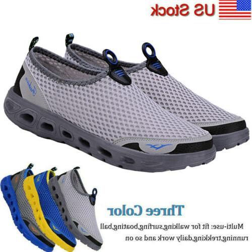 men beach water shoes barefoot swim river