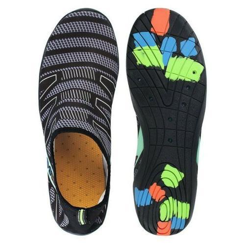 men quick dry water shoes barefoot aqua